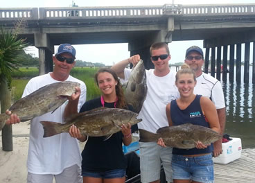 Wrightsville Beach Grouper Fishing